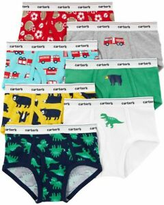 NWT Carter/'s Boys Brief Underwear 3pair//pack Dinosaurs