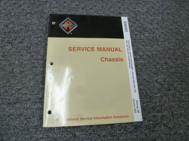 2007 International 3200 4200 4300 4400 Truck Electrical Manual Guide