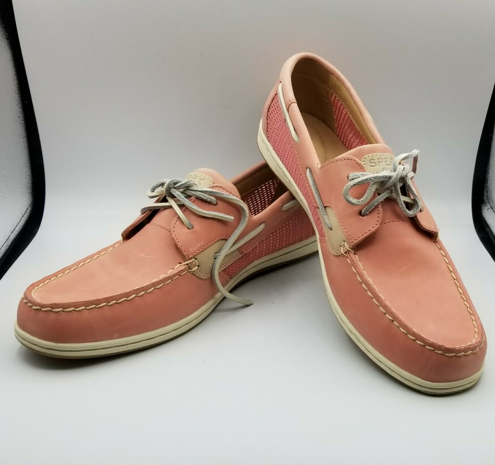 Sperry Koifish Mesh Boat Shoe Pink Women's Red Size 12 M