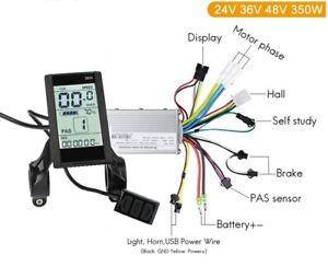 350W S830 Electric Bike Controller with Display 24V/36V/48V 15A