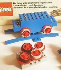 Lego, Haftreifen, 60 Stück, Eisenbahn,30x grau+ 30x schwarz 12V/4,5V,Train,Motor