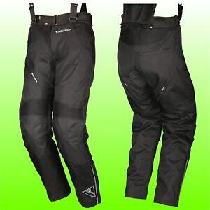 schwarz Modeka CARTAGENA Herren Touring Motorradhose Textil