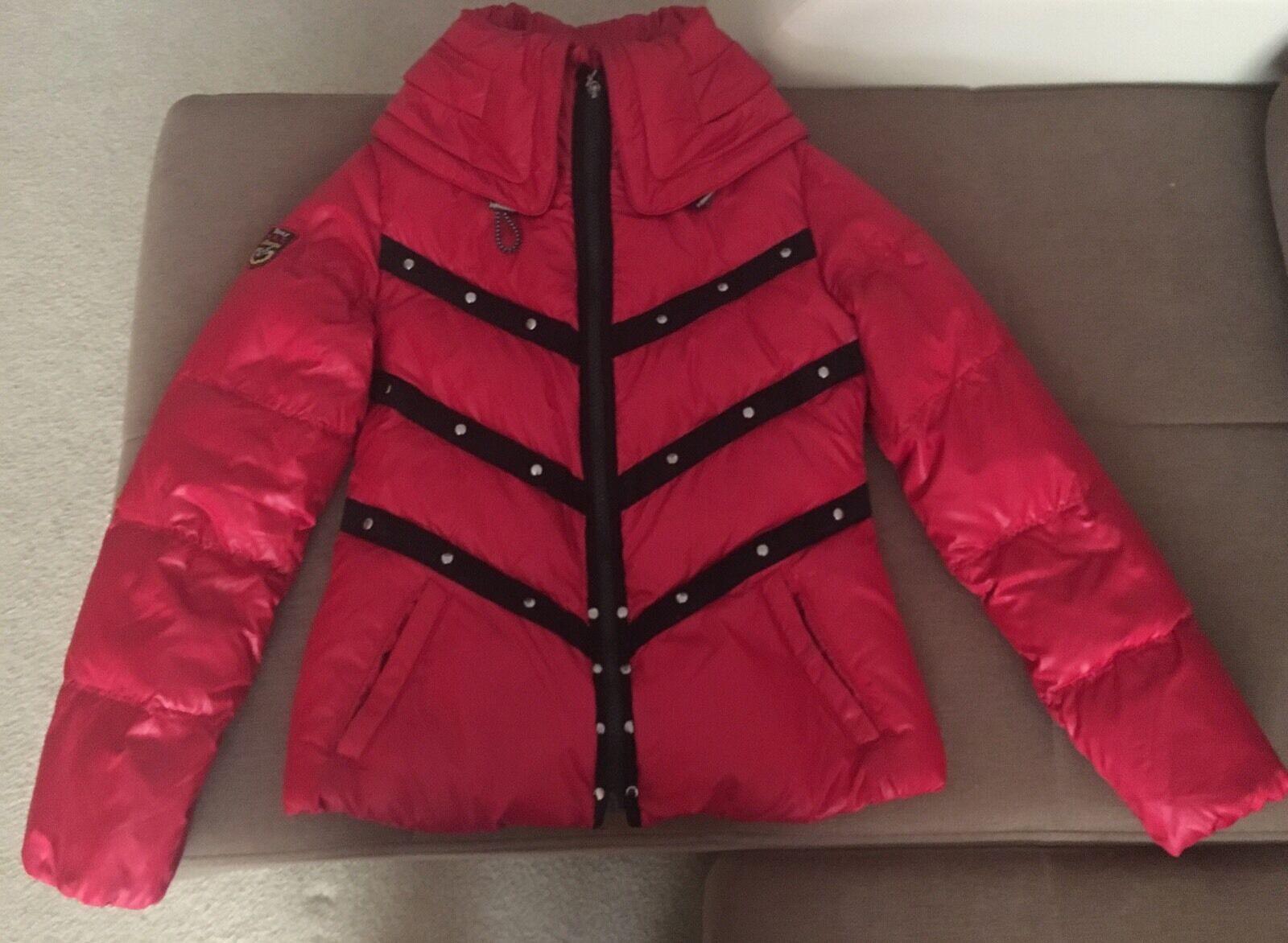 Triple F.A.T.Goose DOWN Red Jacket Größe M