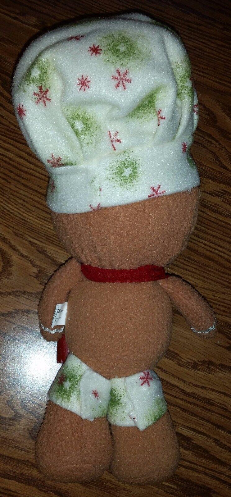 Christmas Gingerbread Man Man Man Peppermint Candy Chef Crafty Decoration Decor a539ce