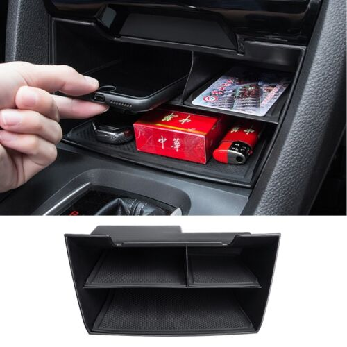 For Honda Civic 2016-18 ABS Inner Console Central Multifunction Storage Box 1PC