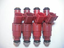 (Four) Flow Matched Refurbished 24 lb/hr Fuel Injectors # 0280156161 Ford Bosch