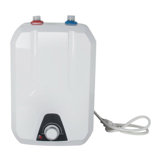 110V 8L Electric Tankless Hot Water Heater Kitchen Bathroom Winter Home 55℃-75℃
