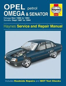 haynes workshop manual opel omega senator holden commodore 86 94 rh ebay com VE Commodore Ute VE Commodore Ute
