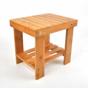 Image Is Loading New Portable Kids Bamboo Stool Step Stool With