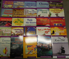 Houghton Mifflin Leveled Reader ELL 25 Books 3rd Grade Level 3 Journeys Guided