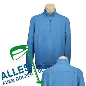PING-Golf-Sweatshirt-Pullover-034-Hybrid-034-blau-Groesse-M-neu-OVP-Rechnung