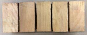 Zitronenholz-Ceylon-Satinholz-Drechselholz-Messerblock-110-x-50-x-50mm