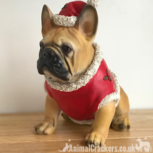 French Bulldog Christmas Jumper.Details About French Bulldog Tan Frenchie Dog Christmas Jumper Outfit Ornament Decoration