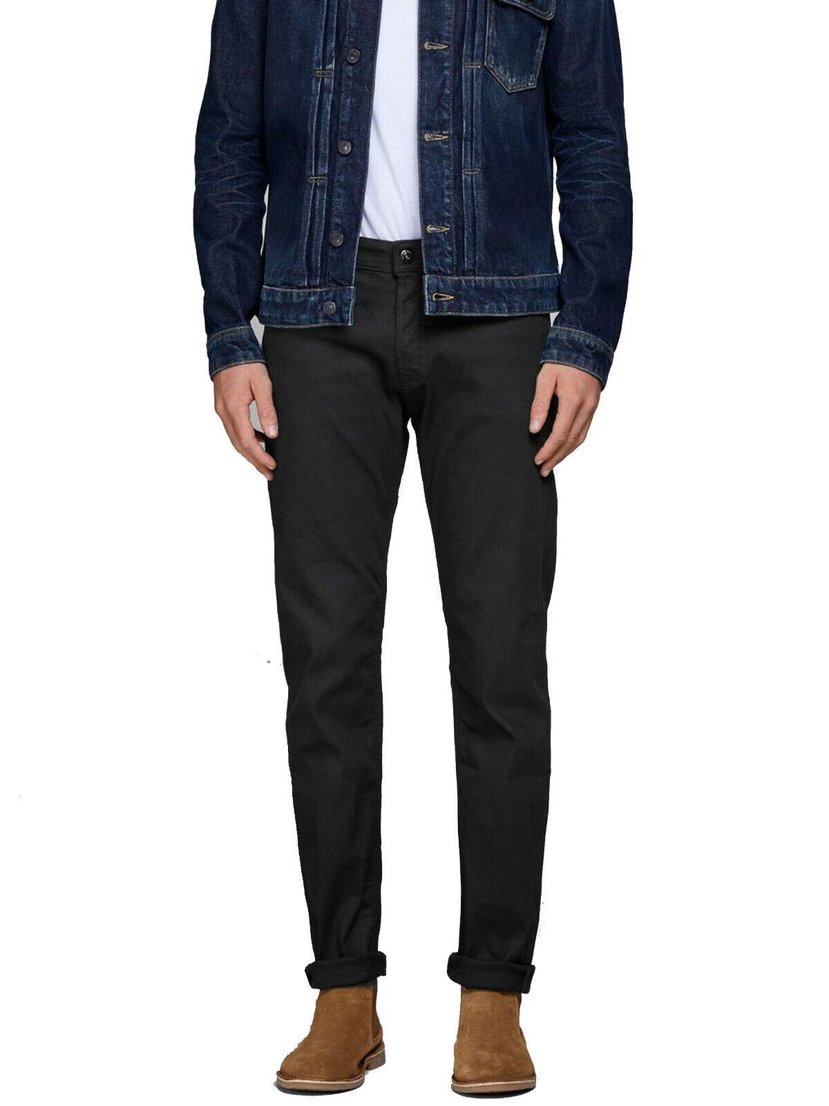 Jack Jack Jack & Jones Mike Original am 776 Comfort Fit Denim Jeans schwarz Pants 023aa2