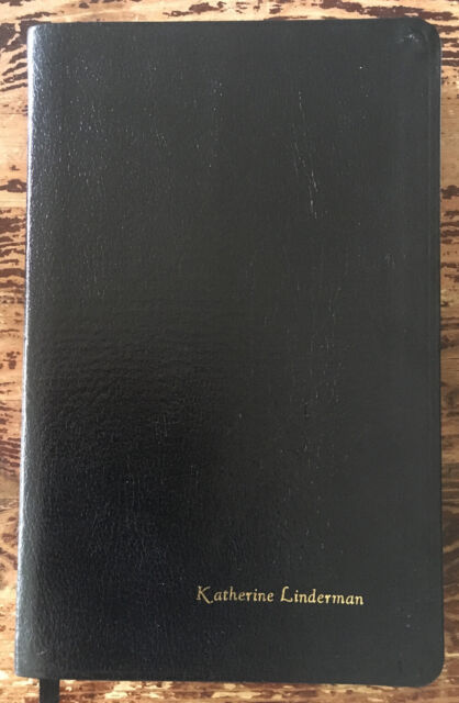 NKJV SLIMLINE BIBLE By Thomas Nelson Publishers ~ Name Embossed on Front Cover