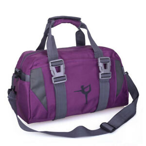Image is loading Waterproof-Large-Sports-Gym-Bag-Outdoor-Fitness-Training- 5eff9c04023b7
