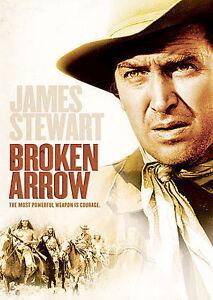 BROKEN-ARROW-James-Stewart-DVD-NEW-Sealed