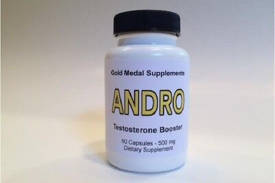 Testosterone Booster - ANDRO - Gold Medal Supplements - 60-count eBay