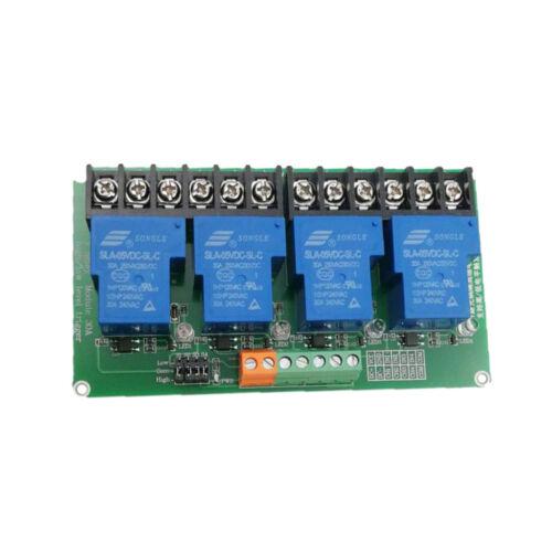 Module de relais DC 12V à 4 canaux pour Arduino Raspberry PI ARM AVR DSP
