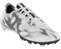 Adidas Football Boots F10 FG Firm Ground White Mens Lace Moulded Studs B26835