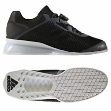 adidas LEISTUNG 16 2.0 WEIGHTLIFTING SHOES BLACK TRAINERS SNEAKERS MEN'S  SPORTS