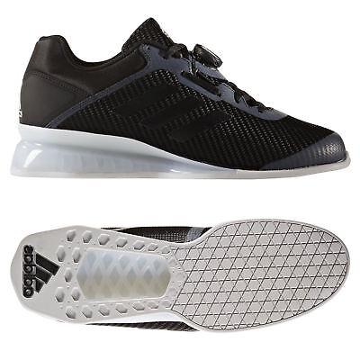 Adidas Leistung 16 2.0 Haltérophilie Chaussures Noir Baskets HOMME Sports | eBay