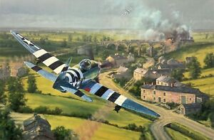 Bridge Busters by Anthony Saunders signed by D-Day P-47 Pilots