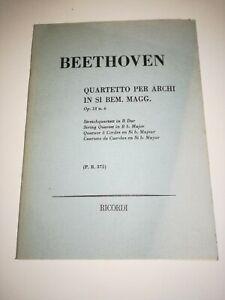 Ricordi Beethoven Romanza Op.50 Trascritta per Organo Elettronico o Pianoforte