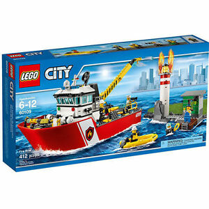 Lego City 60109 Fire Boat Instruction Manuals 1 Bauanleitung 2 and 3 Only