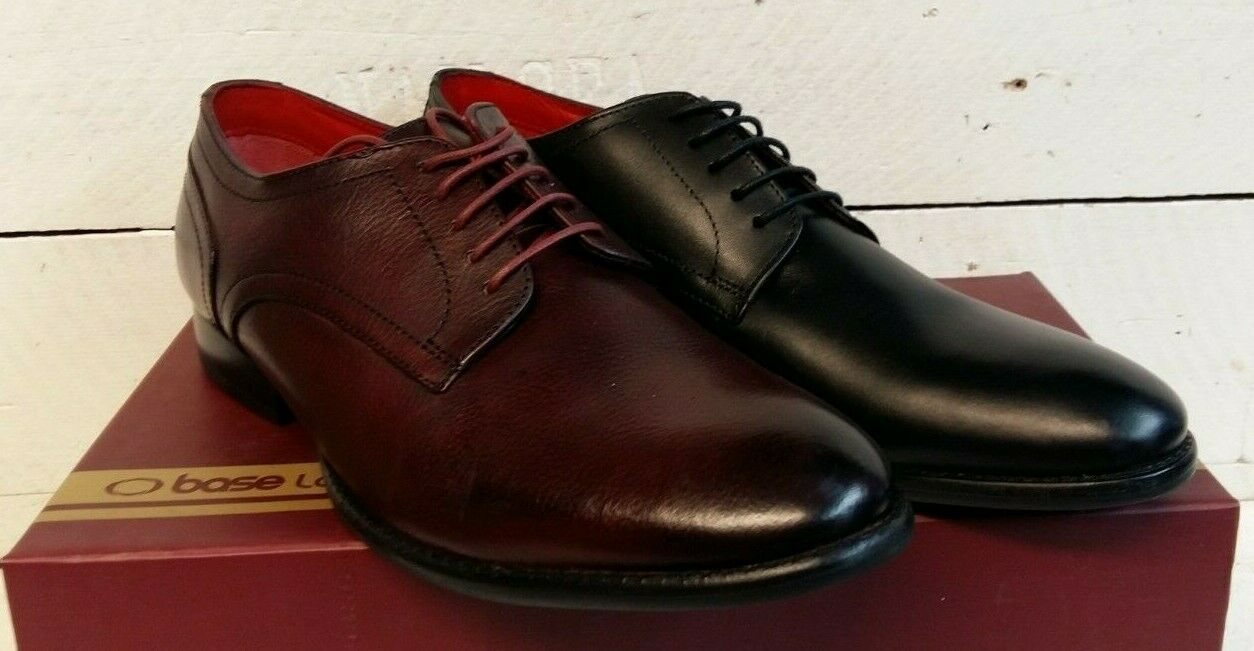 Men's Base London Ford Leather Lace Up shoes