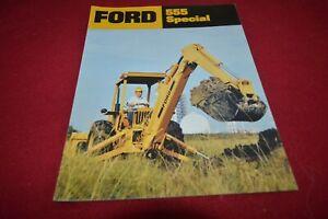 Ford 755A Tractor Loader Backhoe Dealer/'s Brochure GDSD8