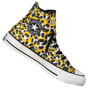 0ecd76600eee Converse Chuck Taylor all Star Animal Print Hi 140920c Trainers ...