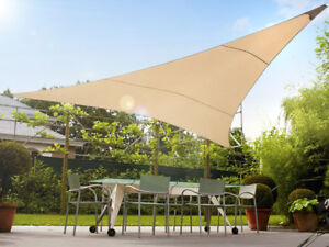 Image Is Loading Garden Sail Sun Screen Shade Canopy 98 Uv