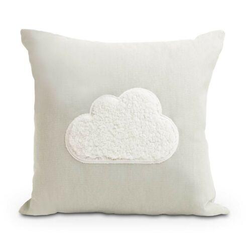 Grey Fluffy Cloud Cushion