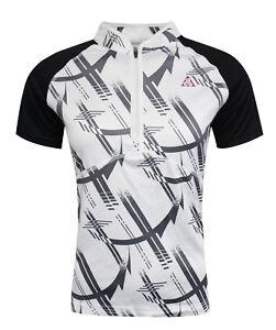 Détails sur Nike Dri Fit Acg Femmes Sports Demi Fermeture Éclair T Shirt Haut Blanc 299000