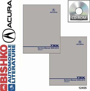 2009 acura tsx service manual