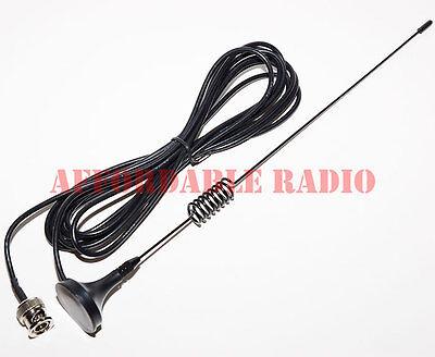 "Receive scanner antenna for Uniden mobile radio wideband magnet mount car 11"""