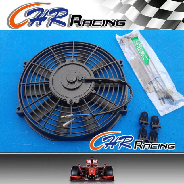 "9"" 9 inch Universal Electric Radiator COOLING Fan +mounting kit MGA/MGB GT"