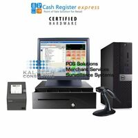 Dell Standard Pcamerica Cre Cash Register Express Pos Retail Station Version