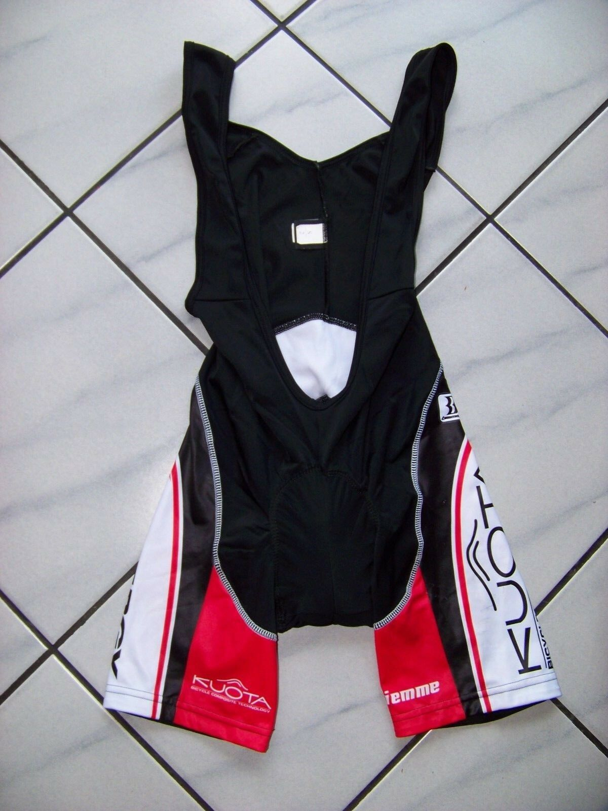 Original BIEMME Spinergy KUOTA Cycling Bib Shorts Trägerhose Pro Quality  Gr. S  buy cheap new
