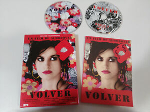 VOLVER-EDICION-COLECCIONISTA-2-X-DVD-LIBRO-CAJA-PEDRO-ALMODOVAR-PENELOPE-CRUZ