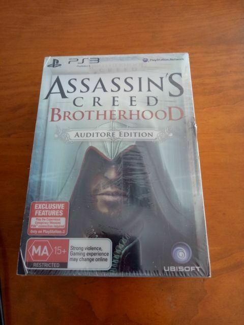 Assassin S Creed Brotherhood Auditore Edition Ps3 For Sale Online