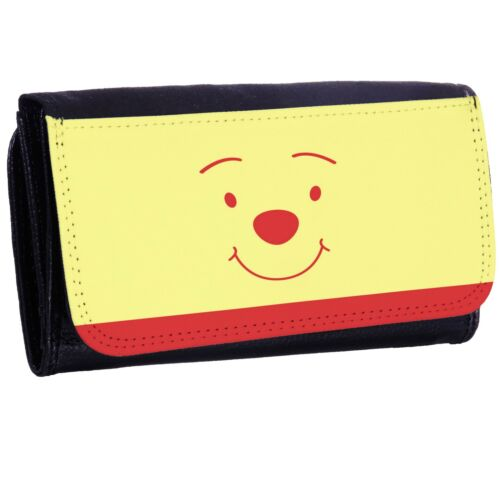 WINNIE THE POOH New Bi-fold Zipper Bill /& Card Holder Purse Long Wallet