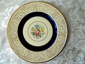 Empire-SHELTON-WORY-1039-England-Porcelain-Plate-26-cm