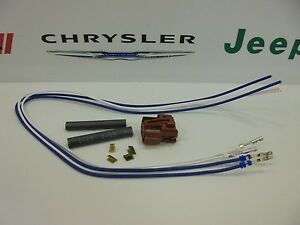details about 10 16 chrysler dodge jeep new 2 way fog lamp wiring harness connector mopar oem Engine Wiring Harness