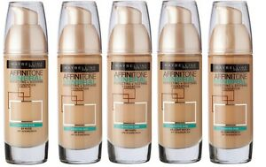 maybelline affinitone color chart cold tones: Maybelline affinitone mineral foundation 30ml choose shade ebay