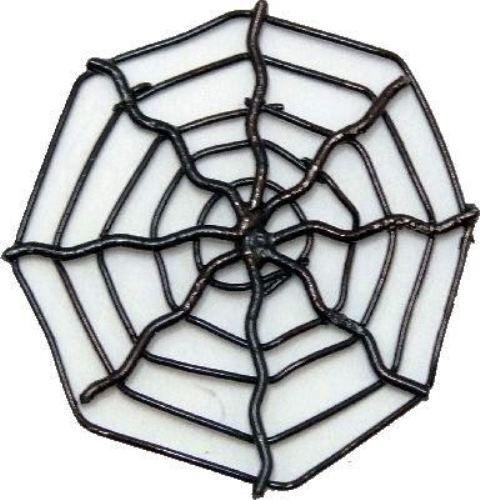 Miniature Dollhouse Fairy Garden Black Wire Halloween Spiderweb Buy 3 Save $5