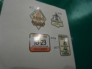 Vintage Raleigh Decals