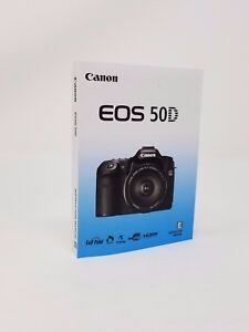canon eos 50d genuine instruction owners manual book original new rh ebay com canon eos m50 manual canon eos 350 manual
