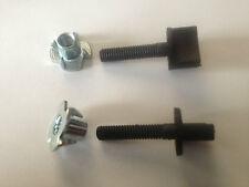 """Nylon Wing Bolt w/ Blind Nut M4 x 22mm (1/8"""" x 7/8"""") Thumb Screw"""